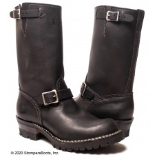 """Wesco 11"""" Black Leather Boss Boots 7700100"""