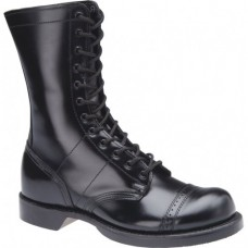 "Corcoran 10"" Black Leather Dress Sole Toe Cap Jump Boot 1500"