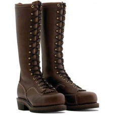 "Wesco 16"" Brown Leather Voltfoe Boots EHBR57161270"