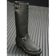 "Wesco 16"" Black Leather Boss Boots BK7716LL100"