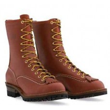 "Wesco 10"" Redwood Leather Jobmaster Boots RW110100"