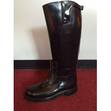 All American Bal-Laced Lug Sole Motor Patrol Boot Buckle Top 905L