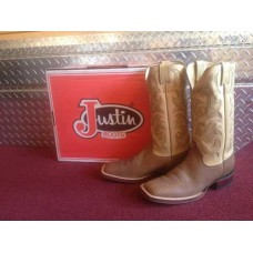 9.5 D Justin 13' Inch Buck Apache Bullhide Western Boots 7000