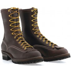 "Wesco 10"" Brown Leather Jobmaster Boots BR110100"
