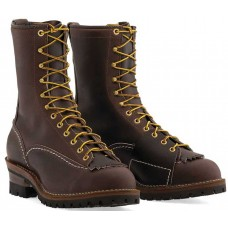 """Wesco 10"""" Brown Leather Highliner Boots BR9710100"""