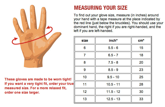 Glove-Measure-Guide